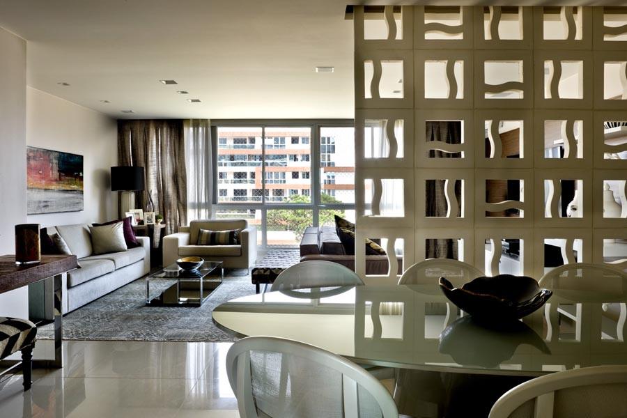 Living -  Apartamento 110 Noroeste