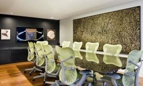 Sala de Reunião -  Residência QI15 - Lago Sul