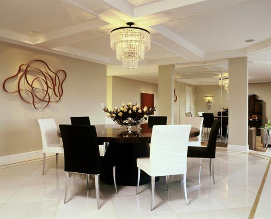 Sala de jantar -  Residência QL14 - Lago Sul