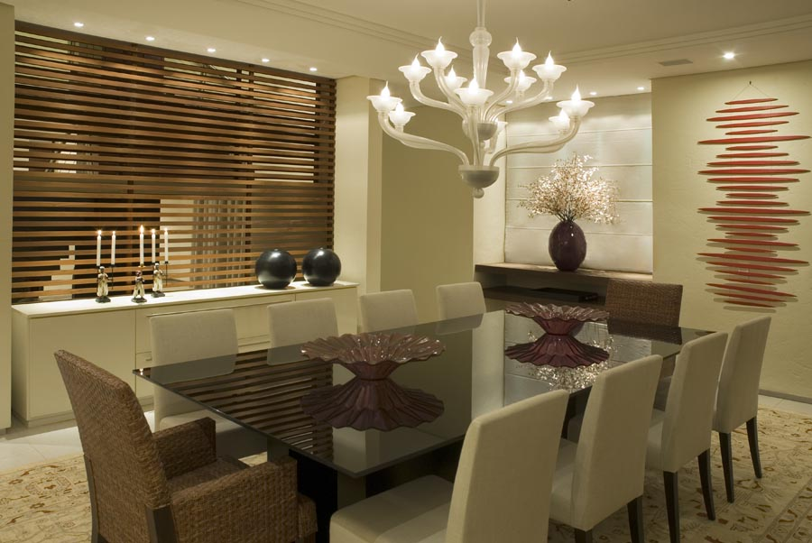 Sala de jantar - Residência SMDB 17 - Lago Sul